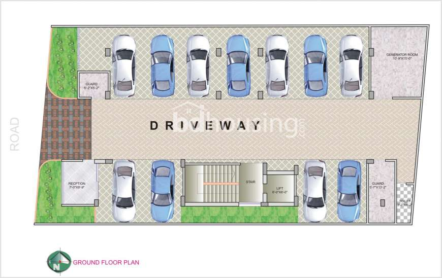 1150 Sqft 3 Beds Under Construction Apartment Flats For