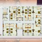 Plot-23,24, Block-B, Kolatoli,New Sea Beach, Cos's Bazar Studio Apartment Floor Plan