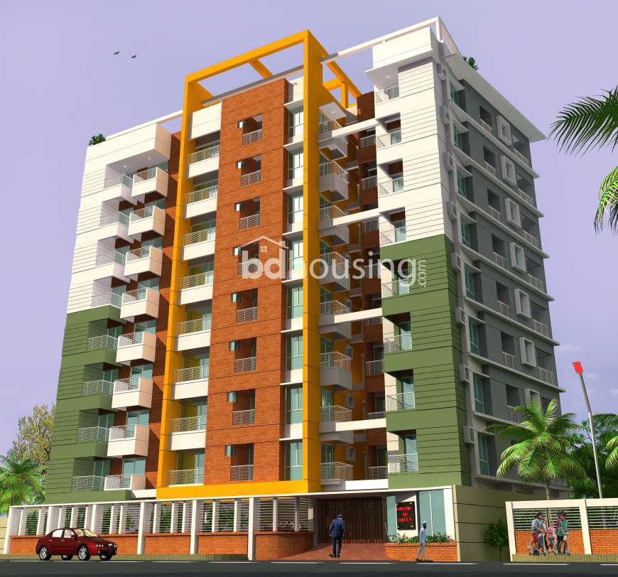 Dominant Bim Barden Apartment/Flats at Aftab Nagar