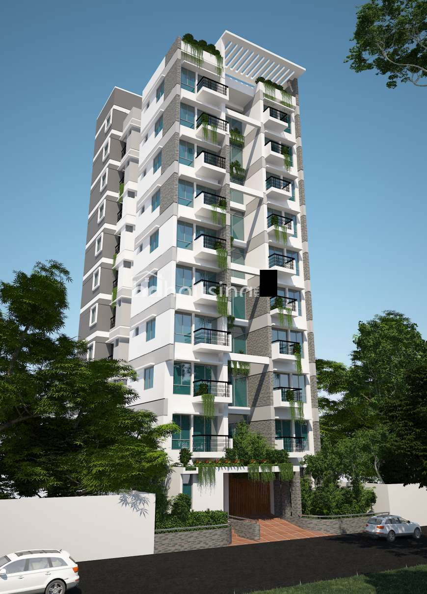 1860 sft South Facing Apartment, Apartment/Flats at Bashundhara R/A