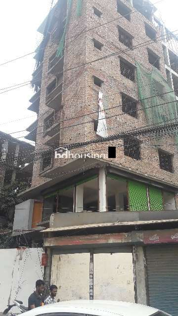 1050sqft Under Construction flat for sale, Apartment/Flats at Badda