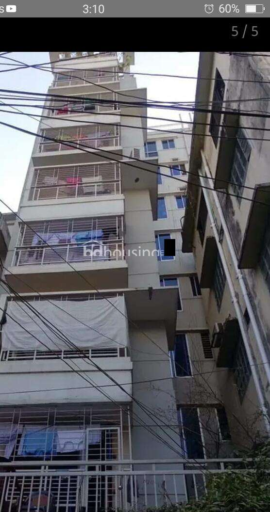 1210 sft ready flat at Dokkhin Goran, Apartment/Flats at Khilgaon