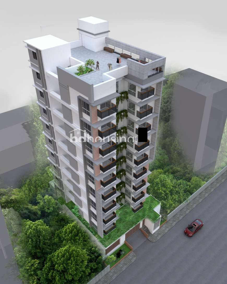 2020 sft Single Unit Apt @ A Block With Gas Connection Apartment/Flats at Bashundhara R/A