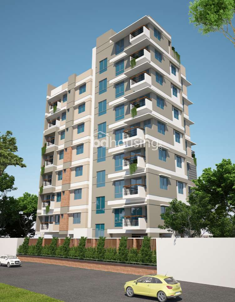 Bastu Shaily Matrichaya, Apartment/Flats at West Dhanmondi