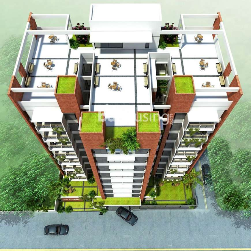 Asim Safiun Swan Heights, Apartment/Flats at Tikatuli