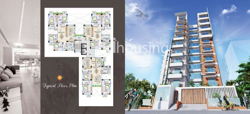 Viera, Apartment/Flats at Bashundhara R/A