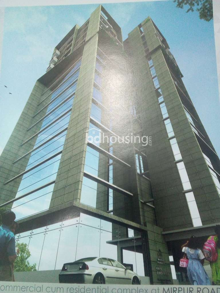 Green Land Mark Tower Office Space at Kalabagan