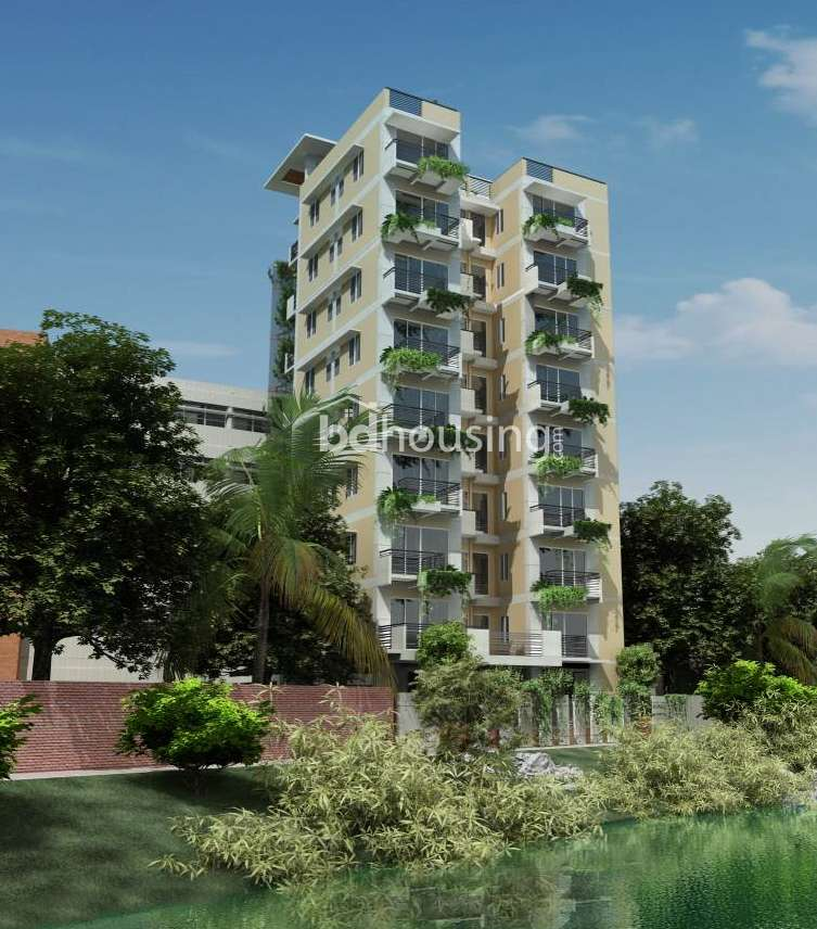 Navana Lake Breeze Apartment/Flats at Uttara