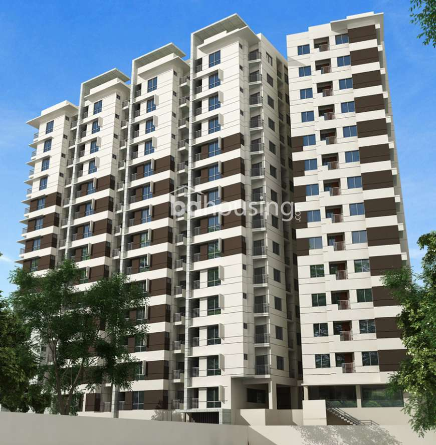 Dominant seven star tower, Apartment/Flats at Aftab Nagar