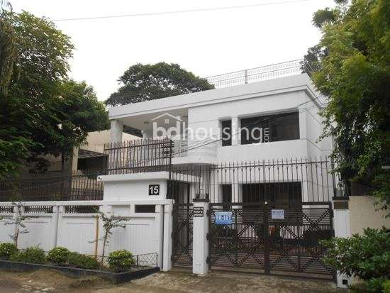 Gulshan House for Rent in 7500 sft, Independent House at Gulshan 02