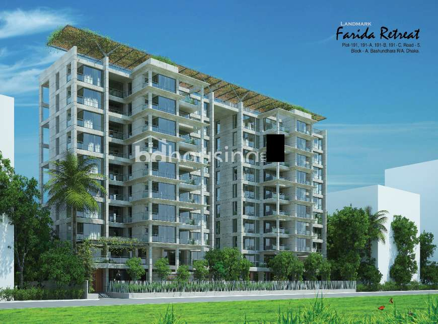 Landmark Farida Retreat Apartment/Flats at Bashundhara R/A