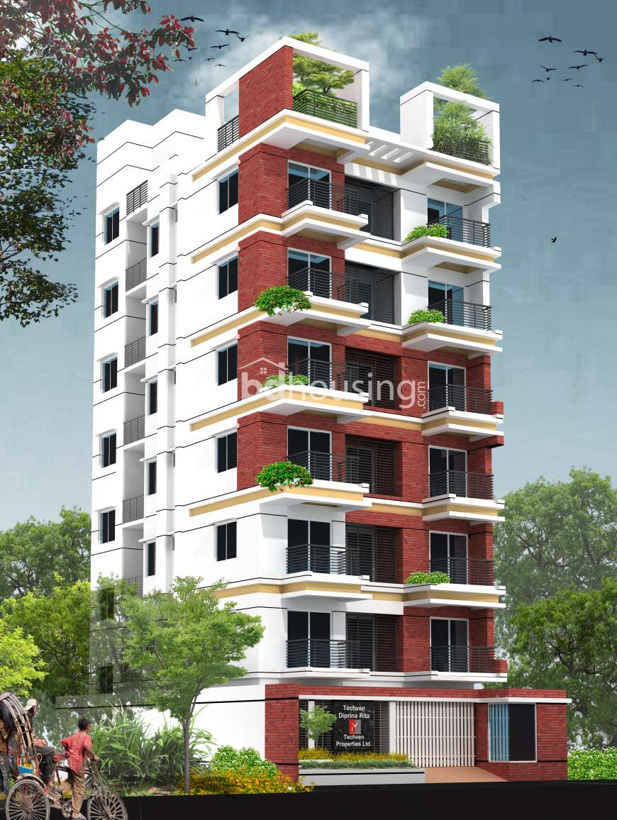TechVen DipRinaRita Apartment/Flats at Banasree