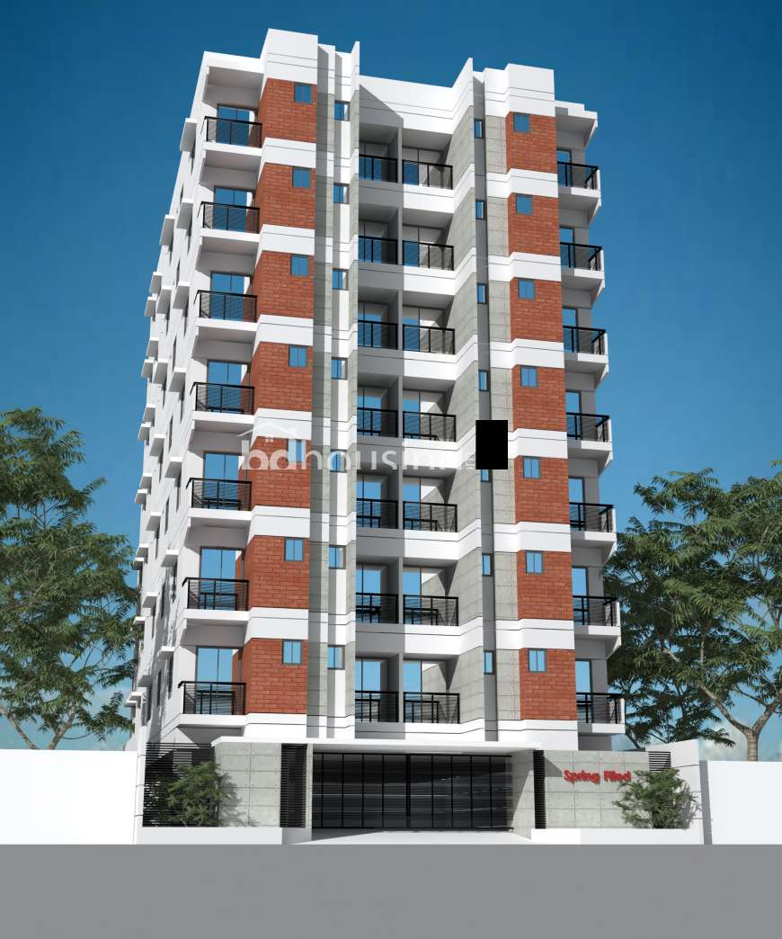 Spring House Apartments: 1200 Sqft 3 Beds Ready Apartment/Flats For Sale At Mirpur