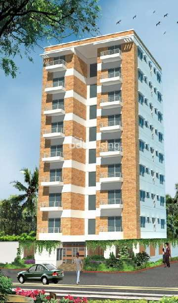 Amble Winter Rose, Apartment/Flats at Banasree