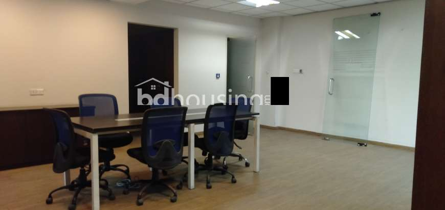Office Space for Rent in Banani 2000 sft, Office Space at Banani