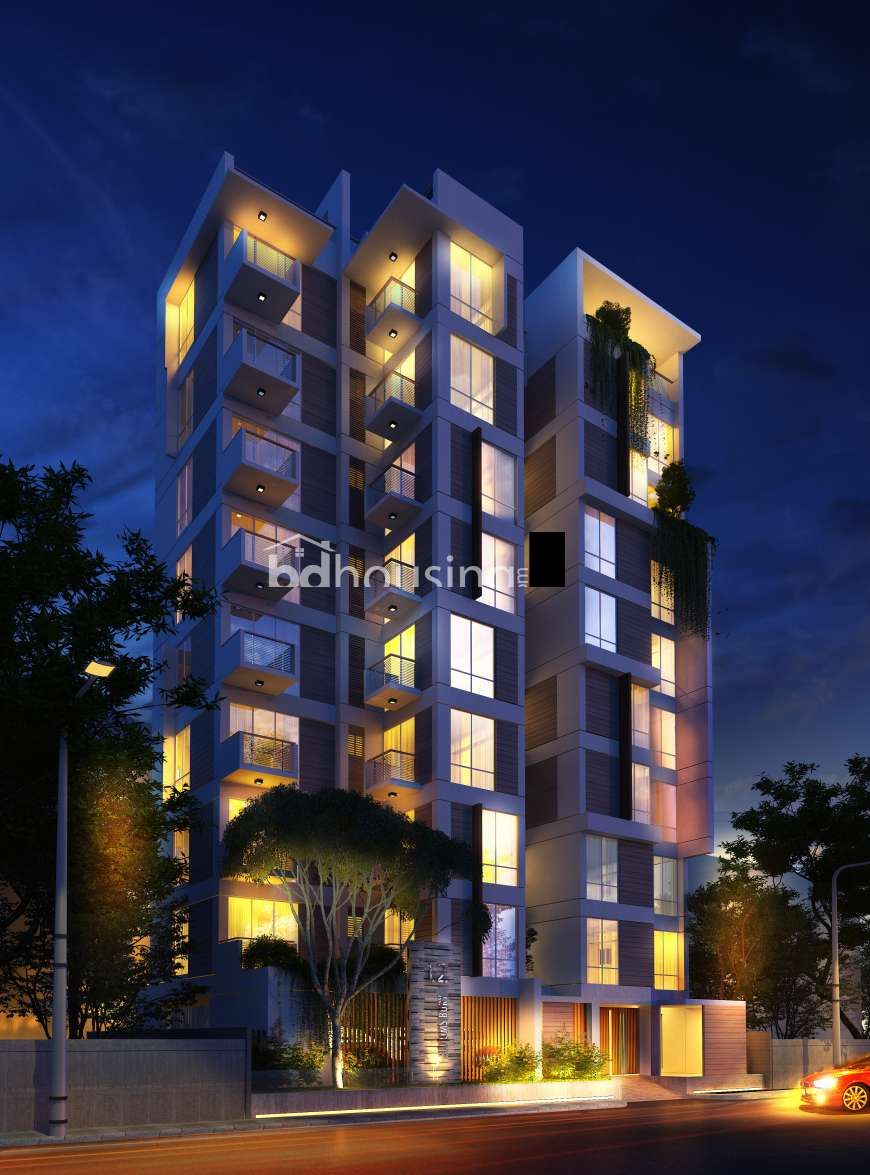 2235 sft Single unit apt with Gas connection., Apartment/Flats at Uttara