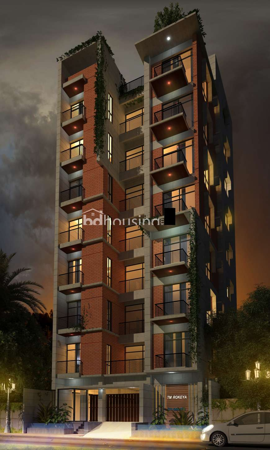 TM Rokeya, Apartment/Flats at Aftab Nagar