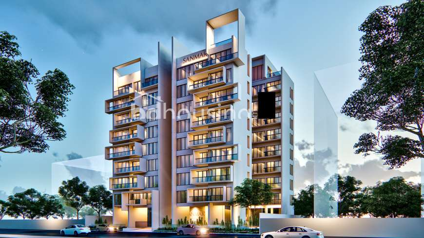 SANMAR ARAS PALACE, Apartment/Flats at Bashundhara R/A