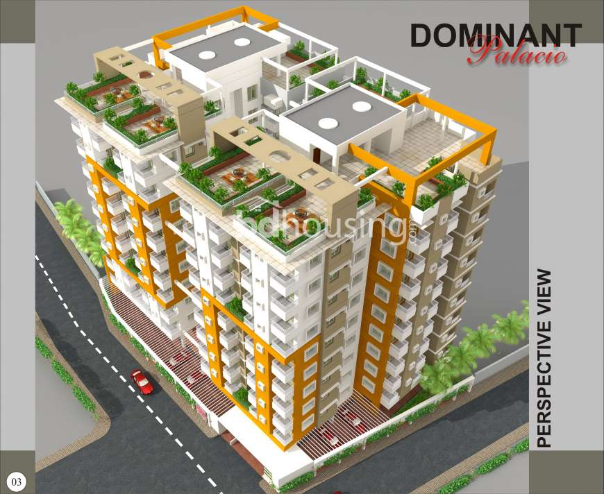 Dominant Palacio, Apartment/Flats at Khilgaon