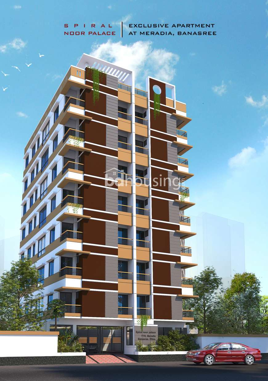 Spiral Noor Palace., Apartment/Flats at Banasree