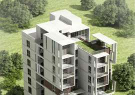 3197 sqft,4 Beds Under Construction Flat for Sale at Baridhara Apartment/Flats at