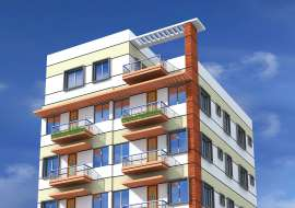 800 sqft, 3 Beds Ready Flat for Sale at Keraniganj Apartment/Flats at