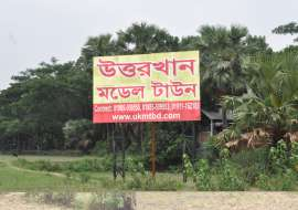 3 katha, Under Development  Residential Plot for Sale at Uttara Residential Plot at