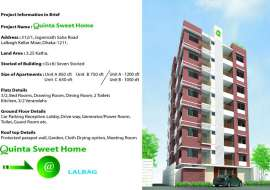 Quinta Sweet Home Apartment/Flats at Lalbag