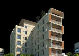 1313 sqft, 3 Beds Under Construction Flat for Sale at Uposahar Apartment/Flats at