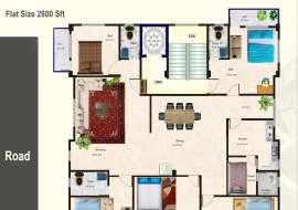 RAINBOW PRINCETON Apartment/Flats at Dhanmondi