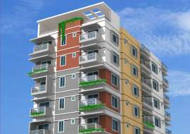 1120 sqft, 3 Beds Under Construction Apartment/Flats for Sale at Basabo Apartment/Flats at