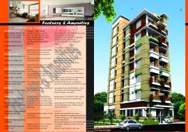 1520 sqft, 3 Beds Ready Apartment/Flats for Sale at Mirpur 1 Apartment/Flats at