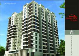 South face flat 1500 Aftabnagar Apartment/Flats at