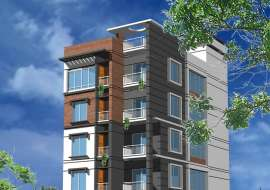 1500 sqft, South Facing Single Unit Flats at  Uttara.  Apartment/Flats at