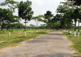 Rajuk Purbachal 5 katha plot for sell in sector-18