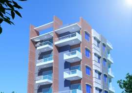 1550 sqft, 3 Beds Under Construction Apartment/Flats for Sale at Aftab Nagar Apartment/Flats at