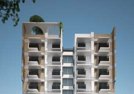 1290 sft 3 bed apartment @ G Block Apartment/Flats at Bashundhara R/A