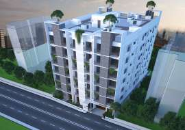 1129 sqft, 3 Beds Under Construction Apartment/Flats for Sale at Cantonment Apartment/Flats at