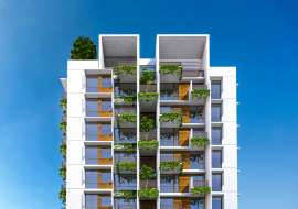 1950 sqft, 4 Beds Under Construction Apartment/Flats for Sale at Bashundhara R/A Apartment/Flats at