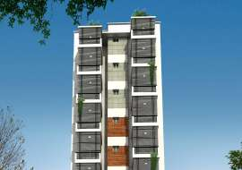 1250 sqft, 3 Beds Under Construction Flats for Sale at Kazipara Apartment/Flats at