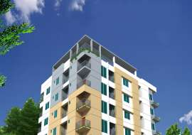 1100 sqft, 3 Beds Under Construction Apartment/Flats for Sale at Aftab Nagar Apartment/Flats at