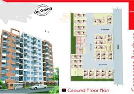 1400 sqft, 3 Beds Ready Apartment/Flats for Sale at Shyamoli Apartment/Flats at