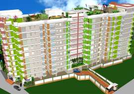1348 sqft, 1 Bed Under Construction Apartment/Flats for Sale at Basabo Apartment/Flats at