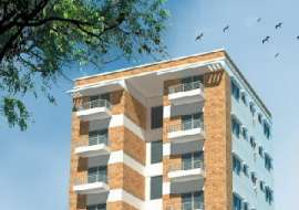 1450 sqft. south facing apartment for Sale at Bonosree, Block H Apartment/Flats at