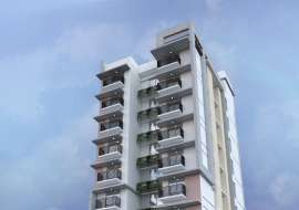 2020 sqft, 3 Beds Under Construction Apartment/Flats for Sale at Bashundhara R/A Apartment/Flats at