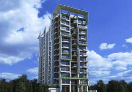 4055 sqft, 4 Beds Under Construction Apartment/Flats for Sale at Bashundhara R/A Apartment/Flats at