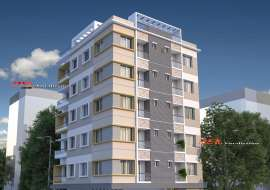 1120 sqft, 3 Beds Handed Over Apartment/Flats for Sale at Banasree Apartment/Flats at