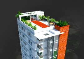 1150 sqft, 3 Beds Under Construction Apartment/Flats for Sale at Malibag Apartment/Flats at