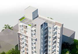 2450 sft Exclusive apt with Lawn & Gas., Apartment/Flats