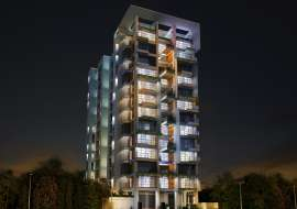 4020sft  Apt with double parking. Apartment/Flats at Bashundhara R/A, Dhaka